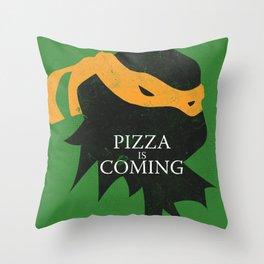 Pizza Time Throw Pillow