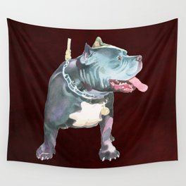 Staffordshire Bull Terrier Wall Tapestry