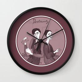 Dostoevsky Poor Folk 1846 Wall Clock