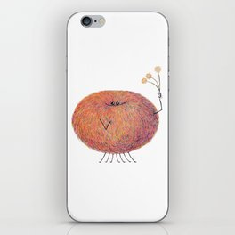 Poofy Streusel iPhone Skin
