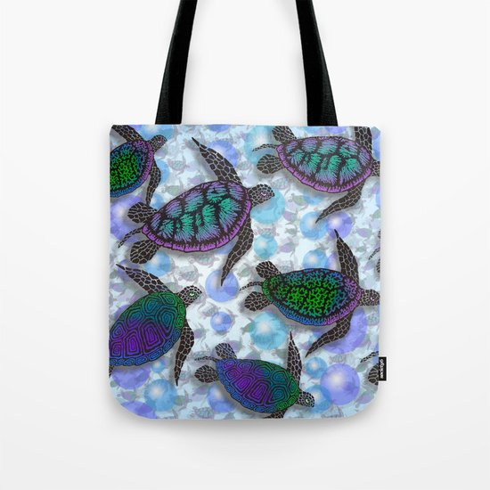 SEA OF TURTLES Tote Bag