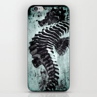 sea horse iPhone & iPod Skins featuring Sea Horse by Bella Blue Photography
