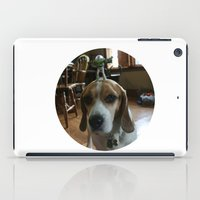 buzz lightyear iPad Cases featuring Bruno and Mini Buzz Lightyear by Bruno The Beagle