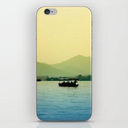 Drifting away iPhone Skin