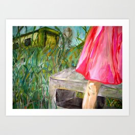 greenview trailer park Art Print