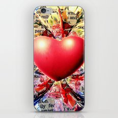 At the Very Heart of It. iPhone Skin
