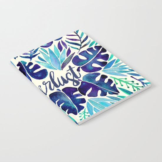 Tropical Wanderlust – Blue Notebook