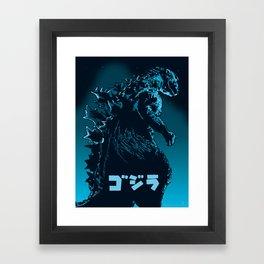 Godzilla 1954 Framed Art Print