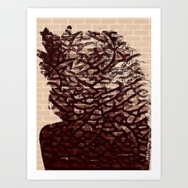 Brickart Art Print