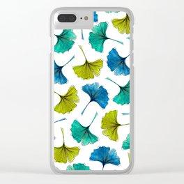 Ginkgo Flush Clear iPhone Case
