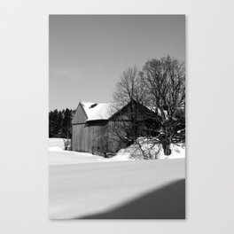 Snow Day (2) Canvas Print