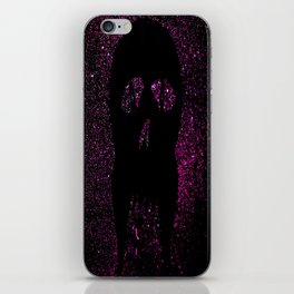 """Fangs"" Purple iPhone Skin"