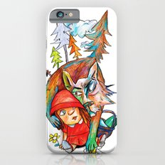 Little Red Riding Hood and the Wolf 01 iPhone 6s Slim Case