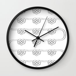 Love Knot Wall Clock