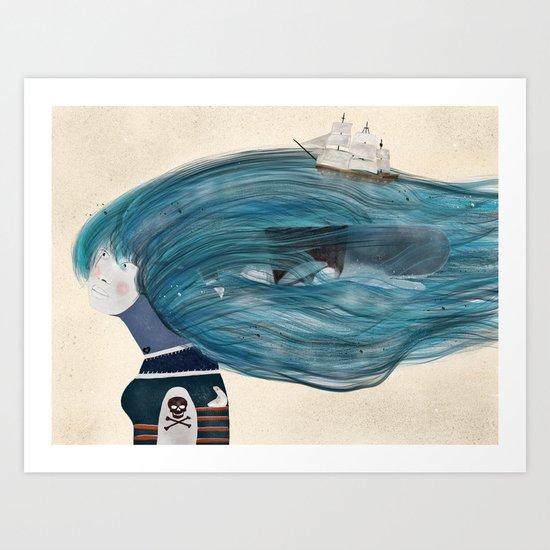 ramona Art Print