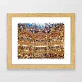 Galleries La Fayette  Framed Art Print