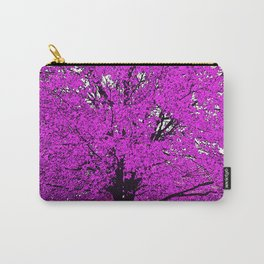 TREES PINK ABSTRACT Carry-All Pouch