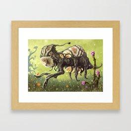 Overslork Framed Art Print