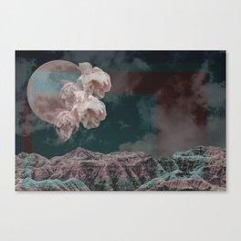 supermoon in taurus Canvas Print