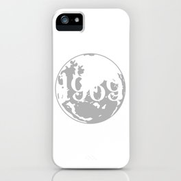 Birthday Shirt For Those Who Were Born In 1969 With A Cool Graphic Of A Full Moon T-shirt Design iPhone Case