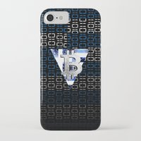 greece iPhone & iPod Cases featuring bitcoin Greece by seb mcnulty