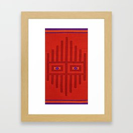 Peruvian Mask Framed Art Print