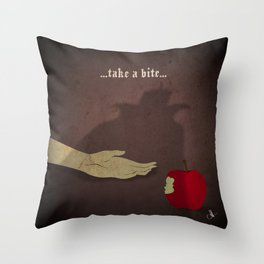 Calamity Collection, Series 1 - Apple Throw Pillow