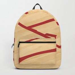 Basketball court Backpack