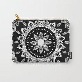 Elilia Silver Fern Mandala Carry-All Pouch