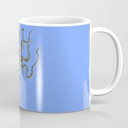 Vintage Octopus Periwinkle Coffee Mug