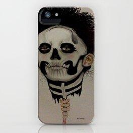 Las Muertas iPhone Case