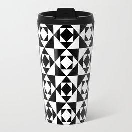 Squares in Squares Travel Mug