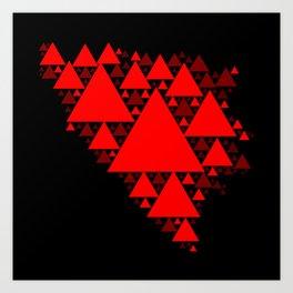 Bosnian Triangles Art Print