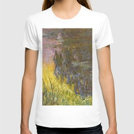 Claude Monet - The Water Lilies, Setting Sun - Digital Remastered Edition T-shirt