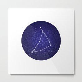 Capricorn - zodiac stars constellation Metal Print