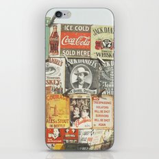 Vintage Signs - London Photography iPhone & iPod Skin