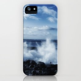Crashing Ocean with spray iPhone Case