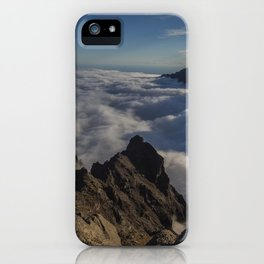 Taburiente sunset iPhone Case