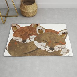 Shelter (Stacked Foxes) Rug