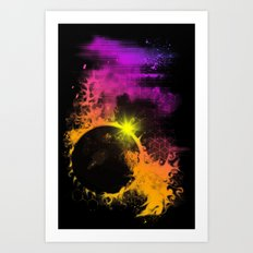 The Rift Art Print