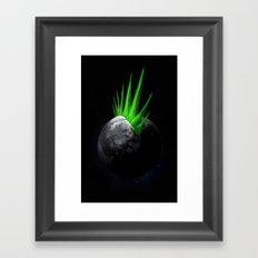 Moonhawk Framed Art Print