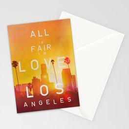 LA LA SUNSET Stationery Cards