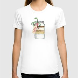 Holiday cookies in a jar T-shirt