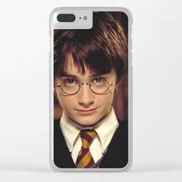 harrypotter cute Clear iPhone Case