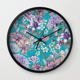 FLORAL GARDEN 10 Wall Clock