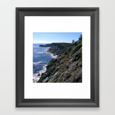 Monhegan Island Framed Art Print