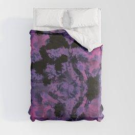 Pink Tie Dye Comforters