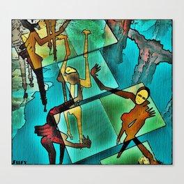 """The Adventures of Rain Dance Maggie"" Canvas Print"