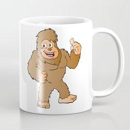 Bigfoot cartoon Coffee Mug