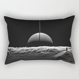 Sharing Space Rectangular Pillow